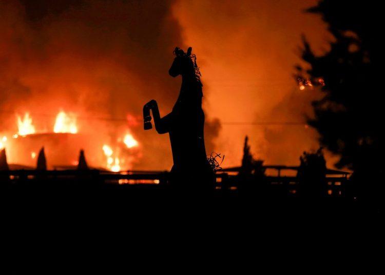 Incêndios florestais avançam na Califórnia