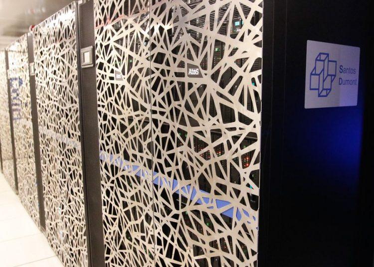 O supercomputador Santos Dumont, no Laboratório Nacional de Computação Científica (LNCC), em Petrópolis