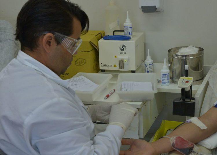 Brasília - Doadores participam de rolezinho no hemocentro da capital (Wilson Dias/Agência Brasil)