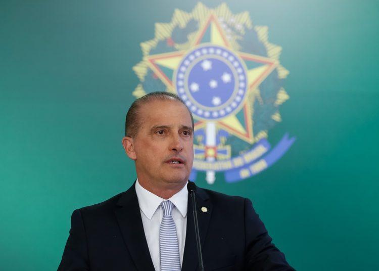 (Brasília - DF, 18/01/2019) Palavras do Ministro da Casa Civil Onyx Lorenzoni. Foto: Alan Santos/PR