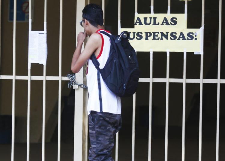 Escolas públicas de Brasília fechadas por decreto do governador do DF Ibanes Rocha. Sérgio Lima/Poder360 12.03.2020