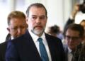 O presidente do Supremo Tribunal Federal, Dias Toffoli, vai ao Congresso para reunião com o presidente da Câmara dos Deputados, Rodrigo Maia.