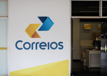 Fachada dos Correios, edificio sede em Brasília. Foto: Sérgio Lima / Poder 360