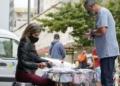 Comércio de rua durante a pandamia do novo coronavírus