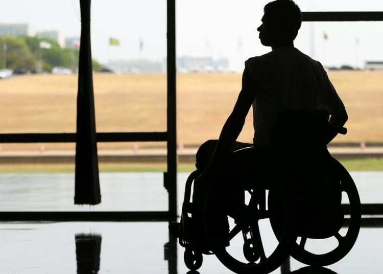 Brasília - O Dia Nacional de Luta das Pessoas Deficientes é comemorado na Câmara dos Deputados com  desfile de modelos com deficiência. (Marcelo Camargo/Agência Brasil)