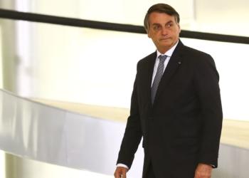 """O presidente Jair Bolsonaro participa de cerimônia de lançamento de programa de qualificação do atendimento de agentes comunitários de saúde, o """"Saúde com Agente""""."""
