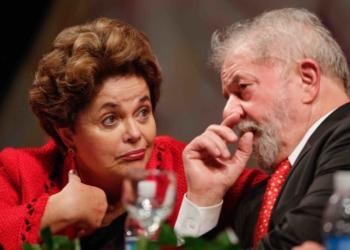 Cerimonia de posse da presidente do Partido dos Trabalhadores, Gleisi Hoffmann e da nova diretoria nacional do partido, que contou com a presença do ex-presidente Lula da Silva e da ex-presidente Dilma Rousseff. Brasilia, 05-07-2017. Foto Sergio Lima/Poder 360