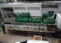 Caminhão com oxigênio é escoltado por seguranças armados durante transporte e descarga no Hospital Universitário Getúlio Vargas, em Manaus Foto: Edmar Barros / Futura Press