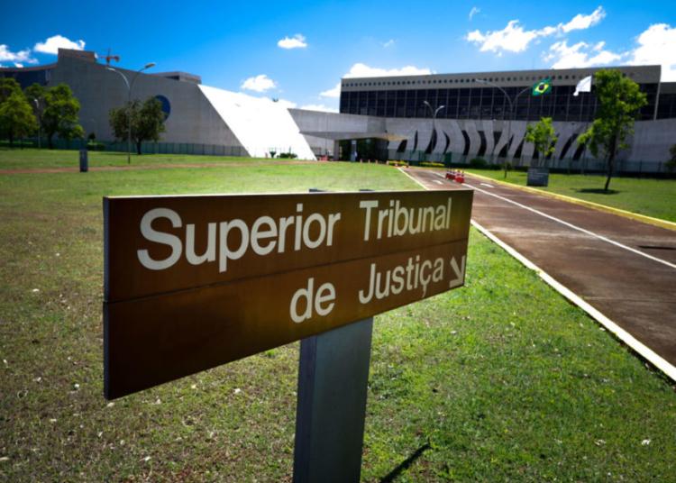 Superior Tribunalk Federal, fachada, letreiro. Sérgio Lima/Poder360 25.09.2020
