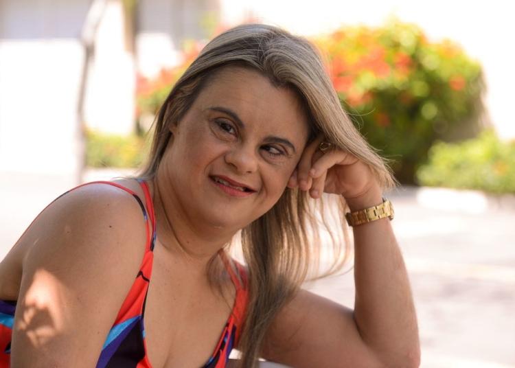 A repórter da TV Brasil Fernanda Honorato