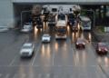 Trânsitol próximo a rodoviária central de Brasília