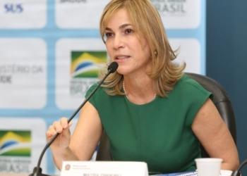 Erasmo Salomão/MS Mayra Pinheiro, secretária de Gestão do Trabalho do Ministério da Saúde