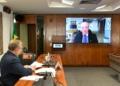 Izalci Lucas presidiu audiência remota da Comissão Senado do Futuro com o ministro Augusto Nardes, do TCU Roque de Sá/Agência Senado  Fonte: Agência Senado