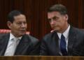 Agência Brasil Presidente Jair Bolsonaro e vice-presidente Hamilton Mourão