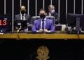 Vice-presidente da Câmara, Marcelo Ramos, no comando da sessão do Plenário  Fonte: Agência Câmara de Notícias