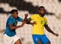 Seleção Olímpica Masculina - Brasil x Cabo Verde  Créditos: Ricardo Nogueira/CBF.