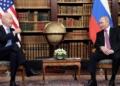 Presidentes de Estados Unidos e Rússia estiveram reunidos menos de três horas e chegaram a acordo para um diálogo em matéria de cibersegurança @ EPA/MIKHAIL METZEL/SPUTNIK/KREMLIN POOL / POOL MANDATORY CREDIT