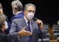 Deputado Federal Carlos Zarattini   Foto: Pablo Valadares/Câmara dos Deputados  Fonte: Agência Câmara de Notícias.