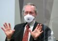 Claudio Maierovitch na CPI da Pandemia.  Foto: Jefferson Rudy/Agência Senado  Fonte: Agência Senado