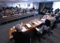 Plenário da CPI durante a reunião desta quinta-feira   Foto: Edilson Rodrigues/Agência Senado  Fonte: Agência Senado