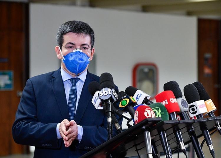Senador Randolfe Rodrigues   Foto: Leopoldo Silva/Agência Senado  Fonte: Agência Senado