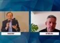 Lira e o presidente da Fiesp, Paulo Skaf, em evento on-line  Fonte: Agência Câmara de Notícias