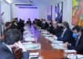 Reunião de líderes na residência oficial do presidente da Câmara  Fonte: Agência Câmara de Notícias