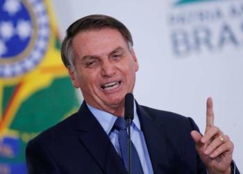 """""""Caguei para a CPI"""", diz Bolsonaro ao afirmar que não responderá carta sobre denúncia Foto: Adriano Machado / Reuters"""