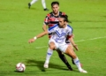 Santa Cruz-PE e Paysandu-PA duelam pela Série C Créditos: Rafael Vieira/AGIF