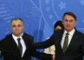 André Mendonça e Jair Bolsonaro.  Foto: Reprodução/Flickr Ex-ministro é advogado-geral da União e foi indicado por Bolsonaro à vaga de ministro no Supremo Tribunal Federal