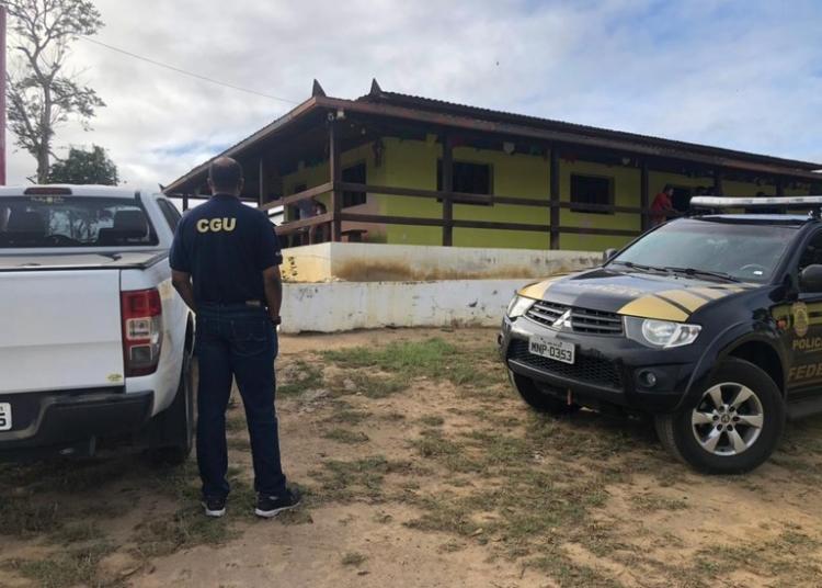 Operação Falsum Latere consiste no cumprimento de 4 mandados de busca e apreensão no município de Mulungu. Foto: Divulgação CGU.