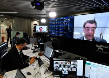 Senador Eduardo Braga (MDB-AM).  Foto: Leopoldo Silva/Agência Senado  Fonte: Agência Senado