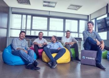 Sócios da Toro Investimentos: o modelo de trabalho é híbrido ou home office. (Toro/Divulgação)