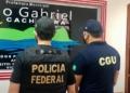 Operação Insignare consiste no cumprimento de três mandados de busca e apreensão nos municípios de Manaus (AM) e São Gabriel da Cachoeira  Foto: Divulgação CGU.