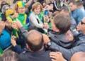 Reprodução / Facebook Presidente Jair Bolsonaro (sem partido) durante motociata em SC