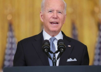 O presidente norte-americano Joe Biden© EPA/Oliver Contreras / POOL