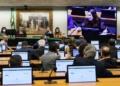 Reunião da Comissão Especial do Voto Impresso.  Foto: Najara Araújo/Câmara dos Deputados  Fonte: Agência Câmara de Notícias