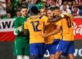 Segundo amistoso da Seleção Brasileira de Futsal: Brasil x Polônia Créditos: Douglas Pingituro/CBF