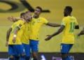 Brasil x Peru pelas Eliminatórias da Copa na Arena Pernambuco  Créditos: Lucas Figueiredo/CBF