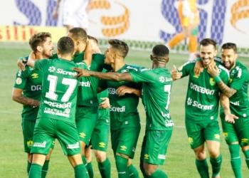 Juventude e Cuiabá ficaram frente a frente pela 20ª rodada do Brasileirão Assaí  Créditos: Luiz Erbes/AGIF
