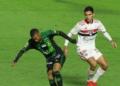 São Paulo e América-MG se enfrentaram em jogo adiado da 19ª rodada do Brasileirão Assaí  Créditos: Fernanda Luz/AGIF
