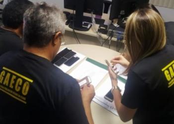 """Foto: Divulgação MPCE/Fraudes licitatórias: MPCE deflagra """"Operação Closing"""", com apoio da COPOL, em Fortaleza, Caucaia e Maracanaú"""