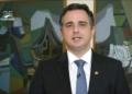 Rodrigo Pacheco   Foto: Reprodução/Tv Senado  Fonte: Agência Senado