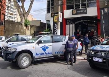 Foto: Divulgação Receita Federal/Receita Federal deflagra operação contra venda ilegal de cigarros eletrônicos na capital paulista