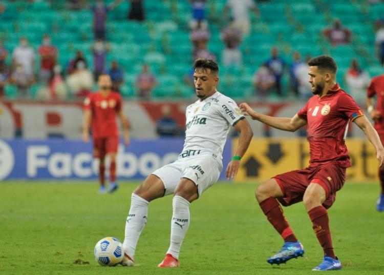 Bahia e Palmeiras se encontram pela 26ª rodada do Brasileirão Assaí Créditos: Jhony Pinho/AGIF