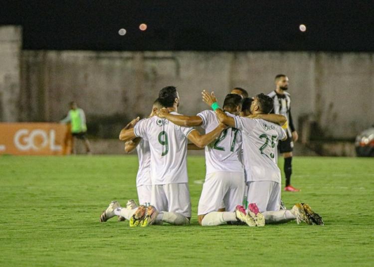 Floresta-CE está garantido na segunda fase das Eliminatórias da Copa do Nordeste 2022 Créditos: Ronaldo Oliveira / ASCOM Floresta EC.