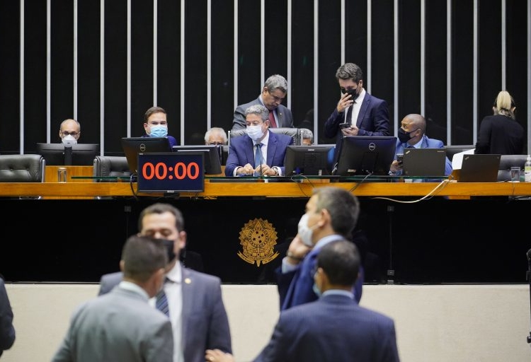 Sessão do Plenário da Câmara dos Deputados  Foto: Pablo Valadares/Câmara dos Deputados   Fonte: Agência Câmara de Notícias.