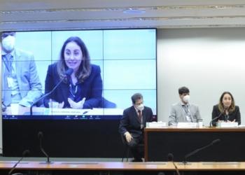 Adriana Ventura criticou destinação de emendas de bancadas a municípios, como se fossem emendas individuais / Foto: Gustavo Sales/Câmara dos Deputados  Fonte: Agência Câmara de Notícias.